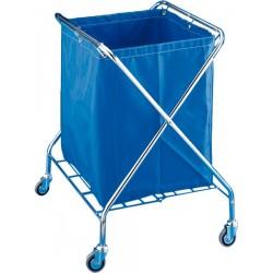 Carrinho dobrável para lavandaria VANEX 220 l CROMADO