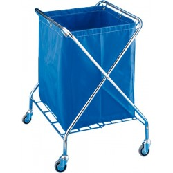VANEX 220 l CHROME PLATED Laundry folding cart