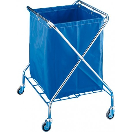 Carro plegable lavandería VANEX 220L CROMADO