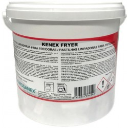 KENEX FRYER Cleansing tablets for fryers