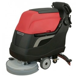 OMM BULL-500 TRACCION industrial scrubber with batteries