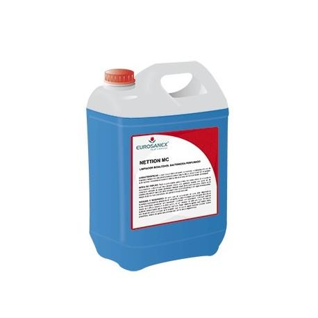 Limpiador enérgico perfumado bactericida, fungicida y virucida NETTION MC-EU