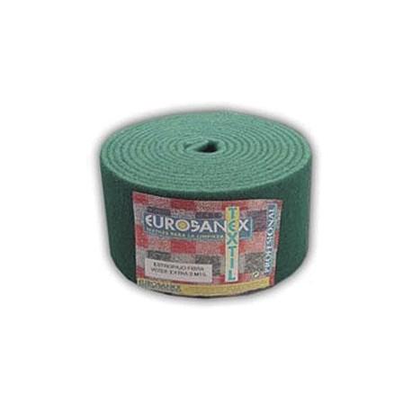 Rollo Estropajo de fibra verde extra 6 mt
