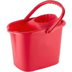 IT 12-litre rectangular bucket with wringer
