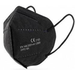BLACK FFP2 Masks - Case 50 Ut.