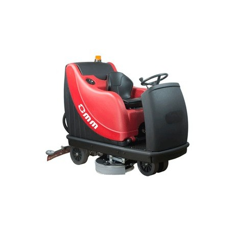 OMM MAGNUM-1000  battery-powered ride on scrubber-dryer