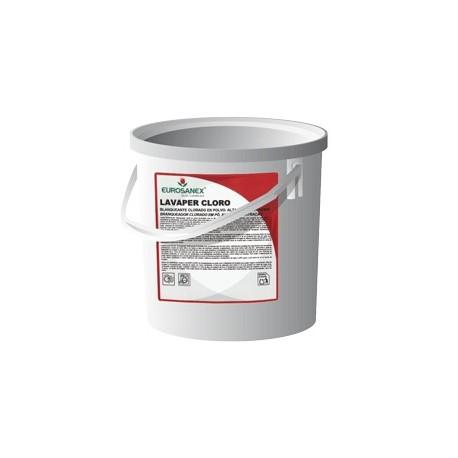 Blanqueante clorado en polvo LAVAPER CLORO