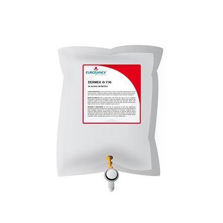 Gel desinfectante base alcohol DERMEX D-730