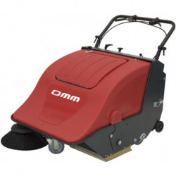 OMM 701-BT battery-powered sweeper