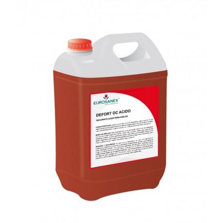 Decapante ácido para solos DEFORT DC ÁCIDO