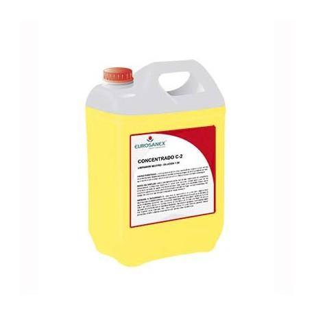 Limpador neutro – Aroma LIMÃO / Produto concentrado CONCENTRADO C-2