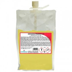 CONCENTRADO C-2 Neutral cleaner – LEMON aroma / Concentrated product
