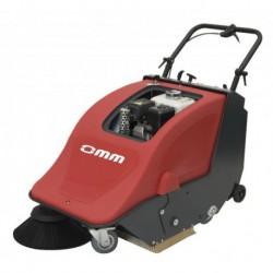 OMM 500-ST petrol-powered sweeper