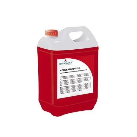 Limpiador higienizante perfumado / Producto concentrado CONCENTRADO C-8