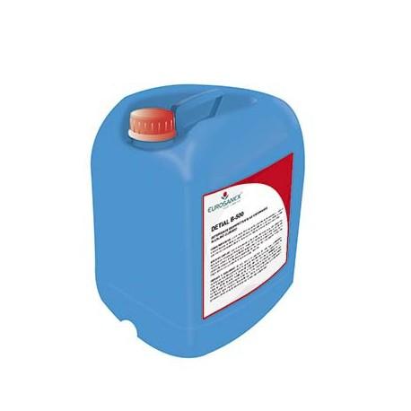 Detergente desinfectante alcalino clorado no espumante Circuitos CIP DETIAL B-500