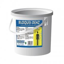 Eliminador de olores para urinarios BLOQUES DENZ