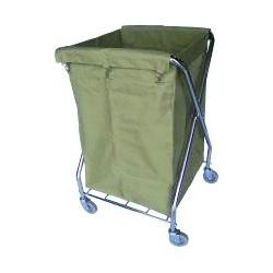 Carros dobráveis para recolha de roupa