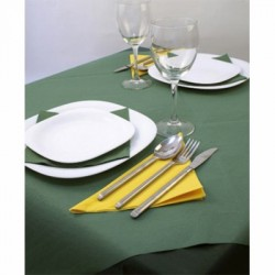 Pre-cut cellulose tablecloths