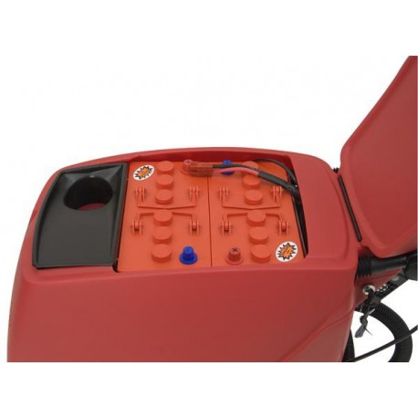 Esfregadora industrial com baterias OMM COMPACT-430 TRACCIÓN