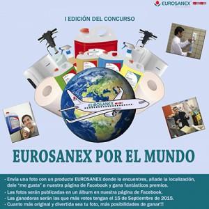 O concurso do Verão EUROSANEX pelo mundo!