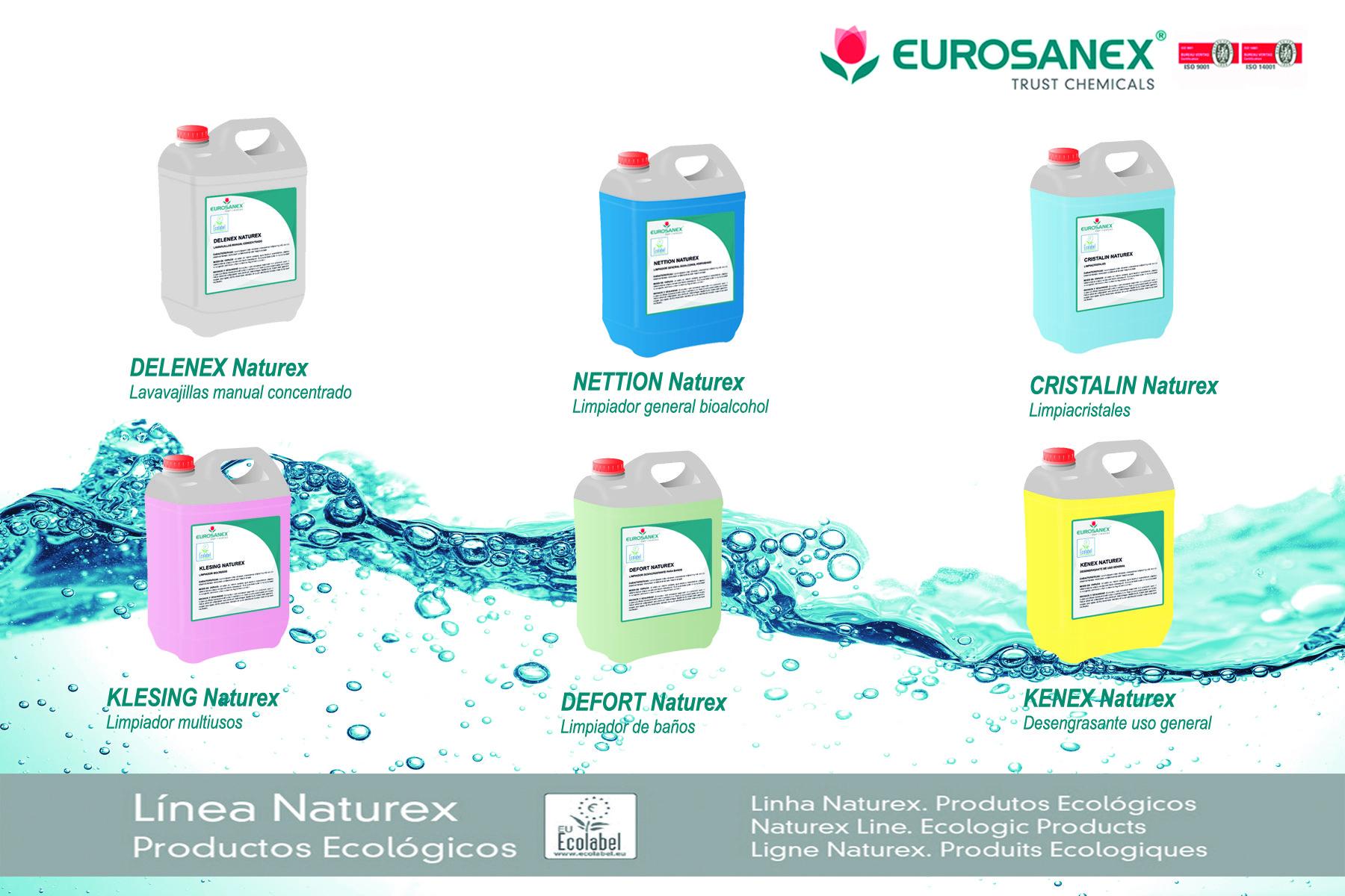 Linea NATUREX – Productos ecológicos