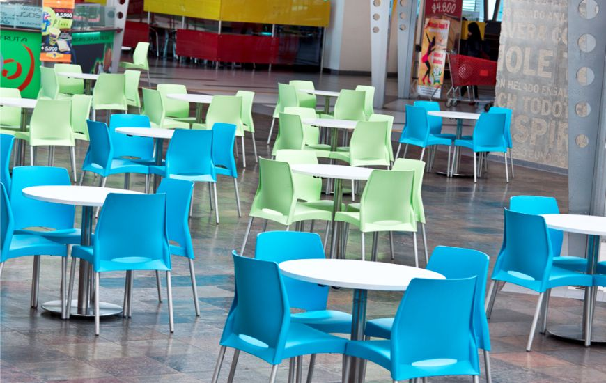 C mo limpiar las mesas y sillas de pl stico de la terraza for Mesas de jardin de plastico