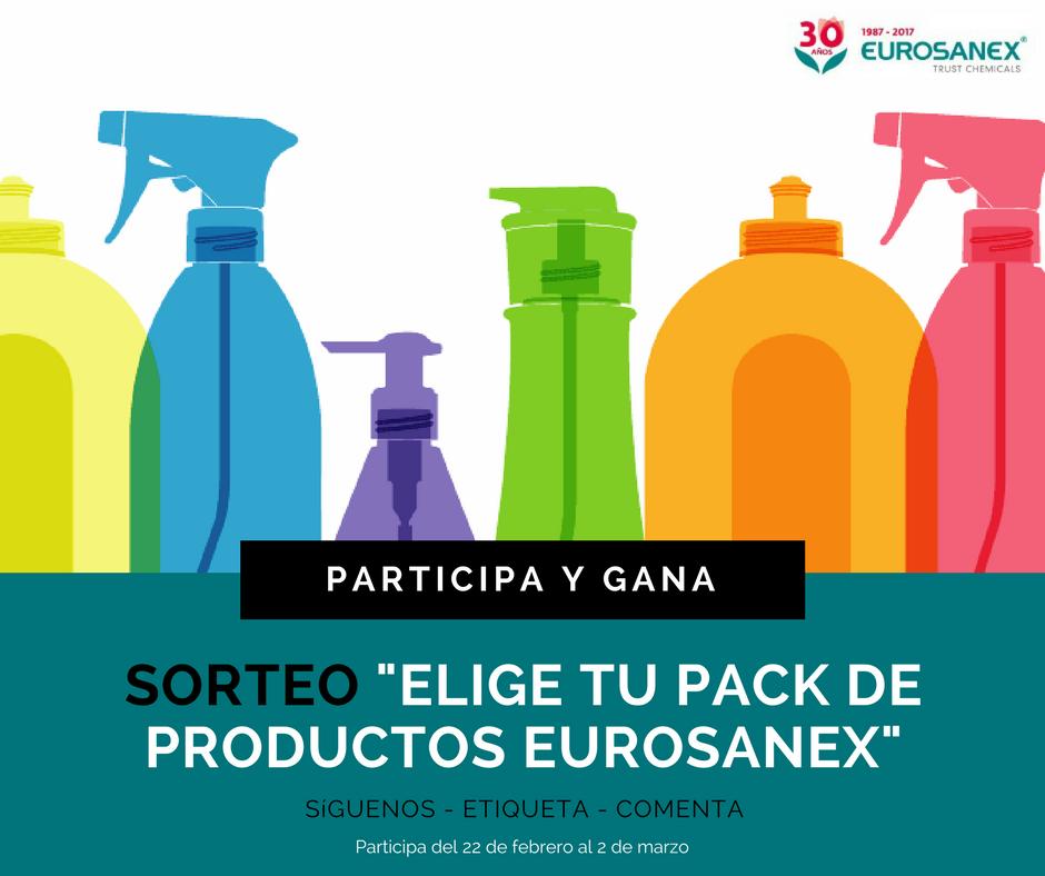 Participa y gana esta selección de productos Eurosanex