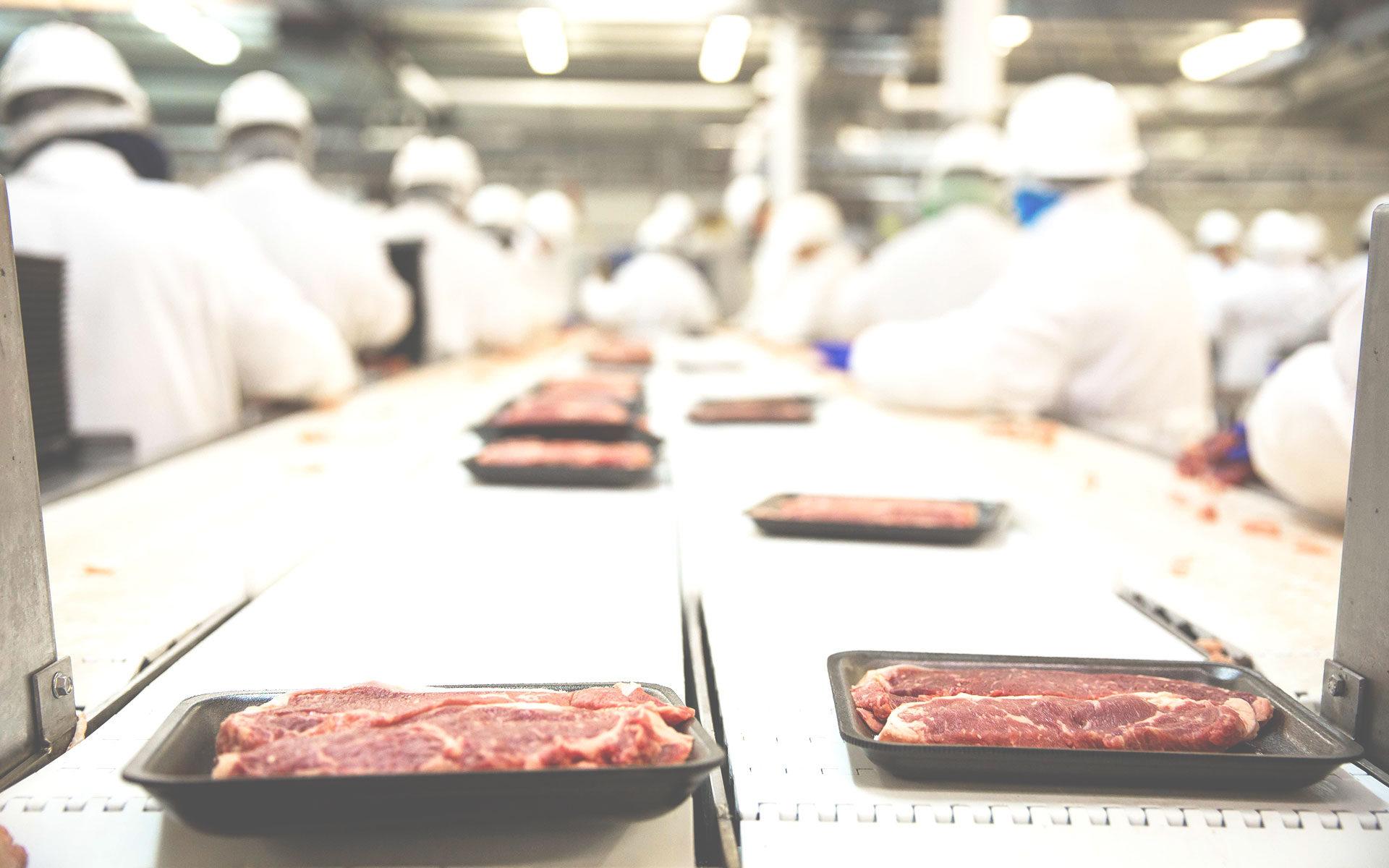 Vestuario desechable para la industria alimentaria.