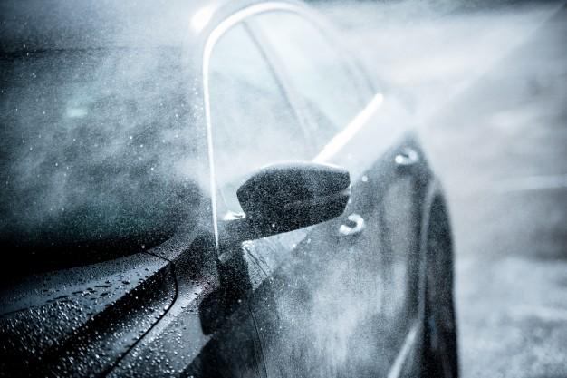 La eficacia de la limpieza de carrocerías con agua a presión