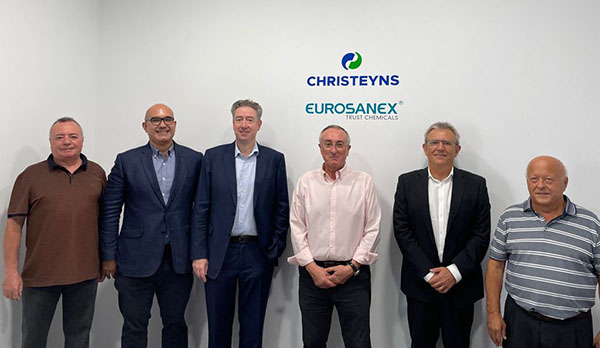 El grupo CHRISTEYNS consolida su posición en el sector de la higiene profesional con la adquisición de EUROSANEX