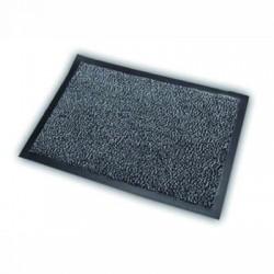 Fabric and vinyl loop doormats