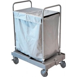 Carros dobráveis para recolha de roupa EUROMOP
