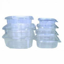 OPS, PP and PET containers