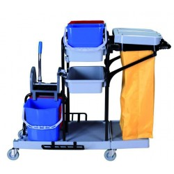 ECO-VANEX cleaning trolleys